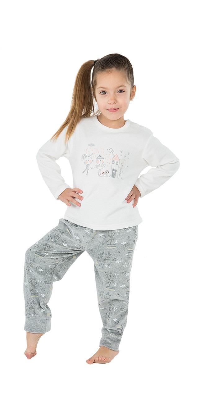 Pijama infantíl niña terciopelo muñeca MUSLHER