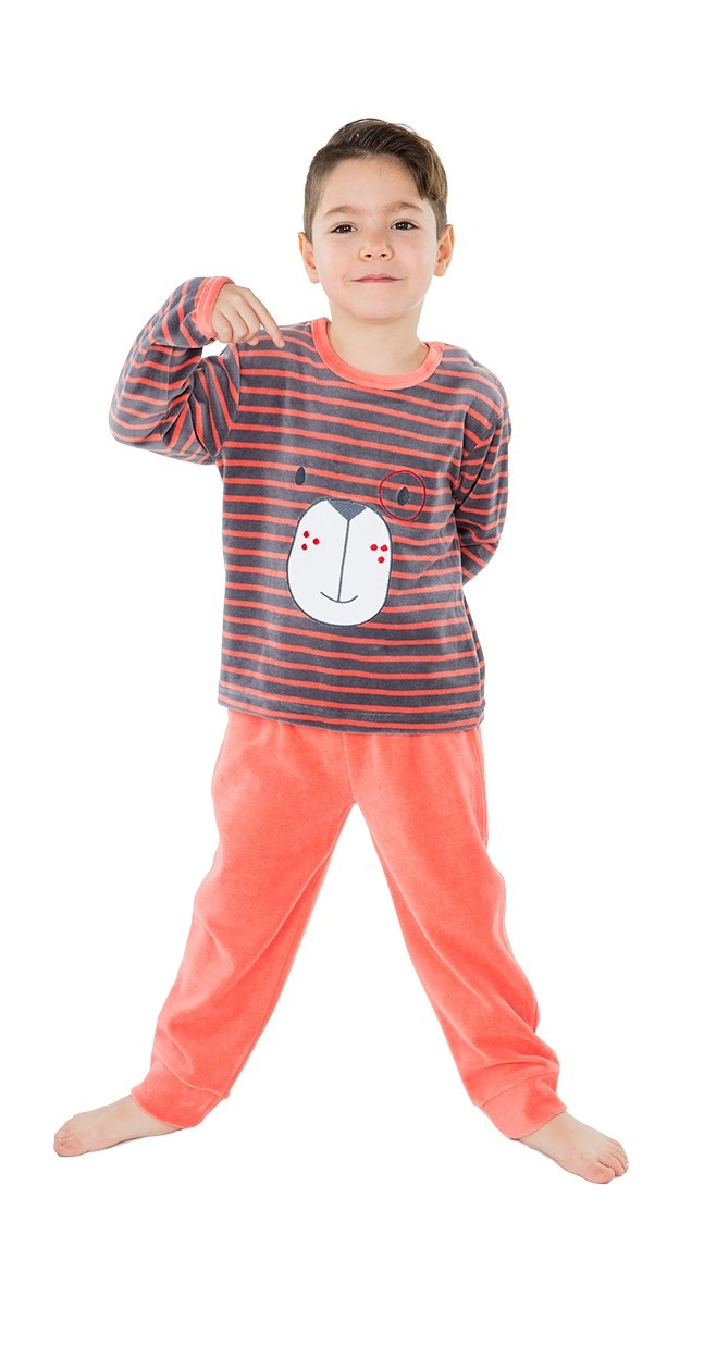 Pijama infantíl niño terciopelo osito MUSLHER