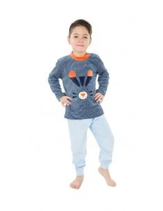 Pijama infantíl niño terciopelo conejo MUSLHER