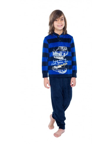 Pijama niño terciopelo puño coche MUSLHER