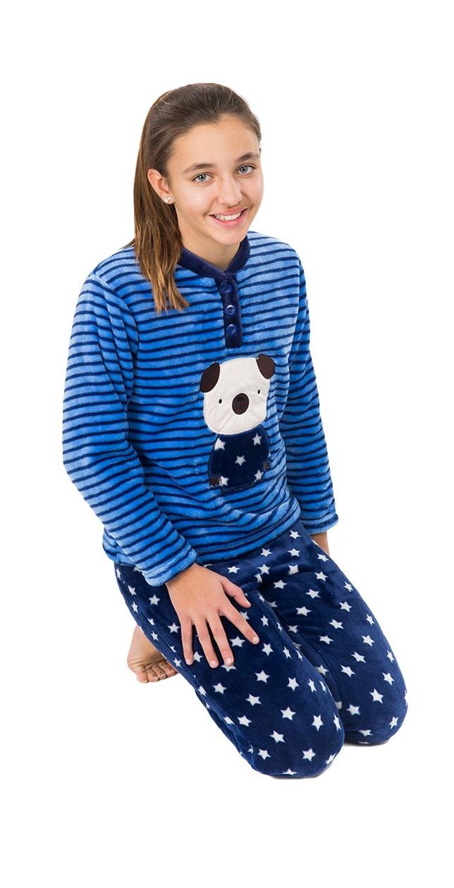 Pijama niña coralina osito MUSLHER