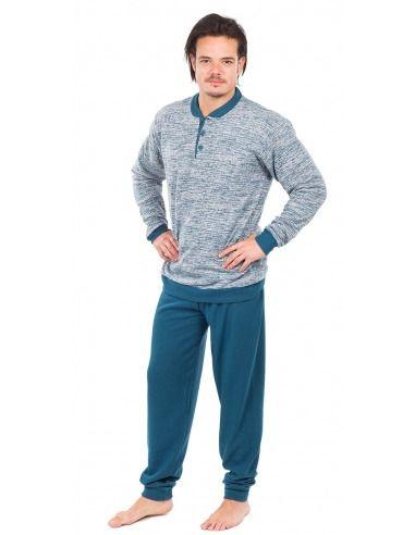 Pijama caballero polar puño MUSLHER