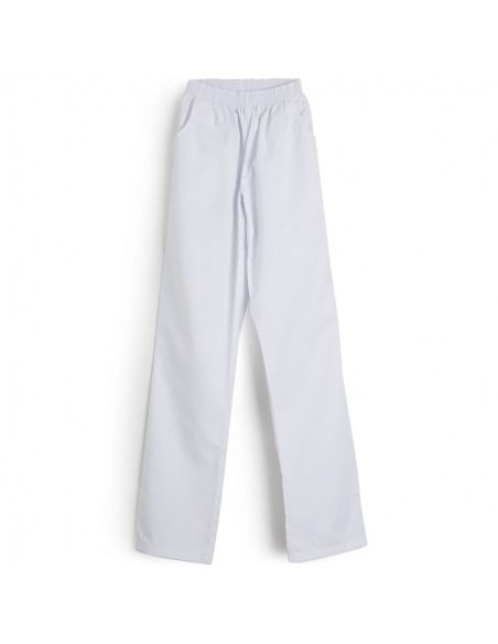 Pantalón sanitario unisex blanco ENCA