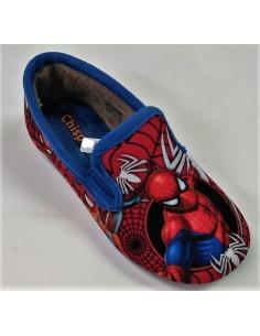 Zapatilla infantil cerrada spiderman CHISPAS