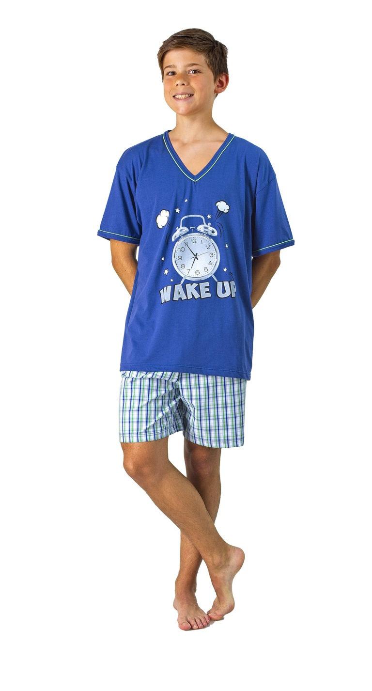 Pijama verano juvenil manga corta DORMEN
