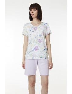 Pijama verano mujer manga corta pantalón corto BELTY