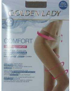 Panty semitransparente sin costura 40 den GOLDEN LADY