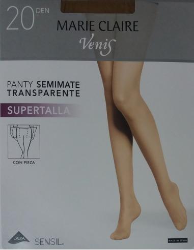 Panty supertalla semimate transparente 20 den MARIE CLAIRE