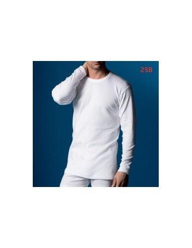 Camiseta caballero manga larga termal abanderado
