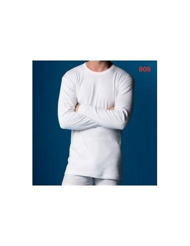 Camiseta termal caballero manga larga fibra abanderado