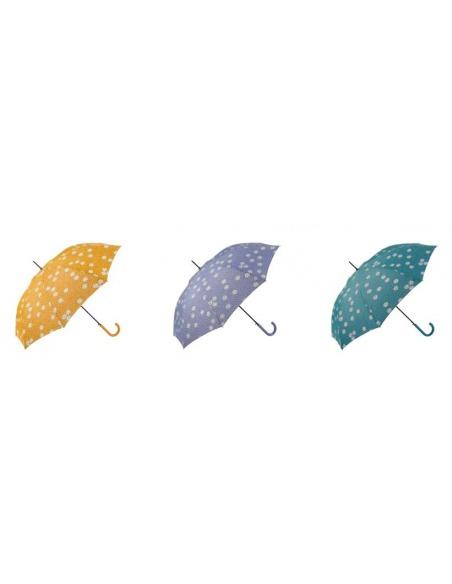 Paraguas mujer largo automático antiviento 8 varillas GOTTA