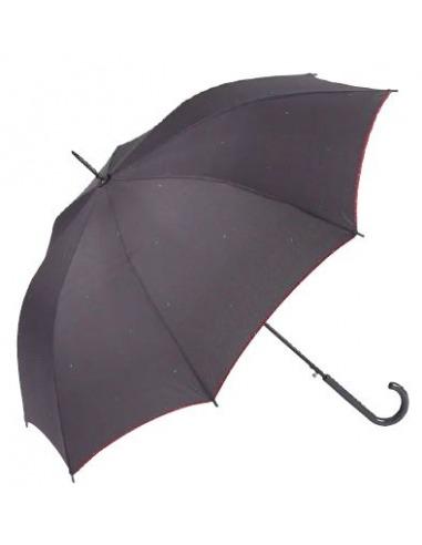 Paraguas mujer largo automático antiviento lunares GOTTA
