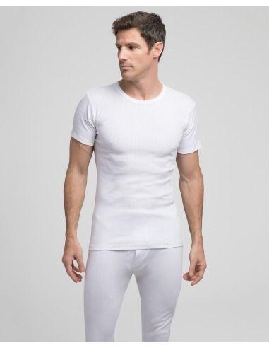 Camiseta caballero manga corta termal abanderado
