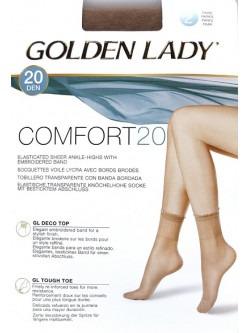 Pack 2 medias calcetínes tobilleros licra GOLDEN LADY