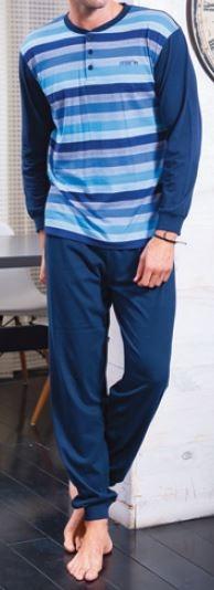 Pijama niño verano manga larga puño MUSLHER