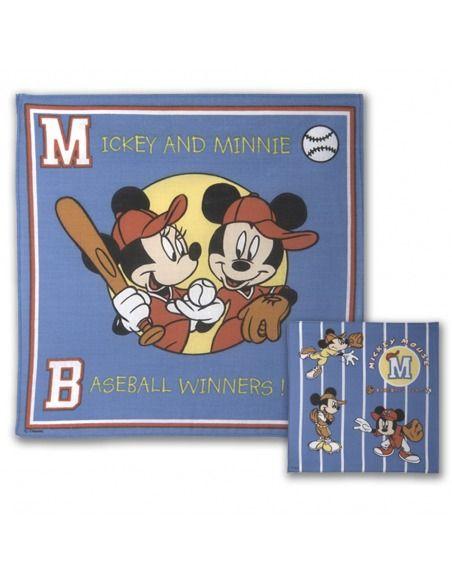 Pañuelo algodón infantil Disney mickey Canellas