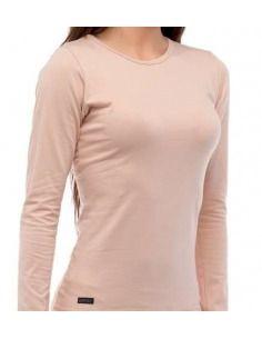 Camiseta interior térmica mujer redondo manga larga LUDGY