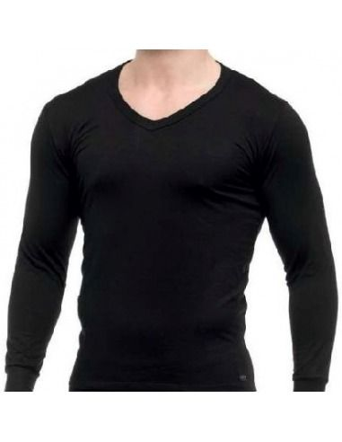 Camiseta interior térmica hombre pico manga larga LUDGY