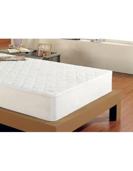 Protector colchón ajustable acolchado impermeable D.N. MODA HOGAR