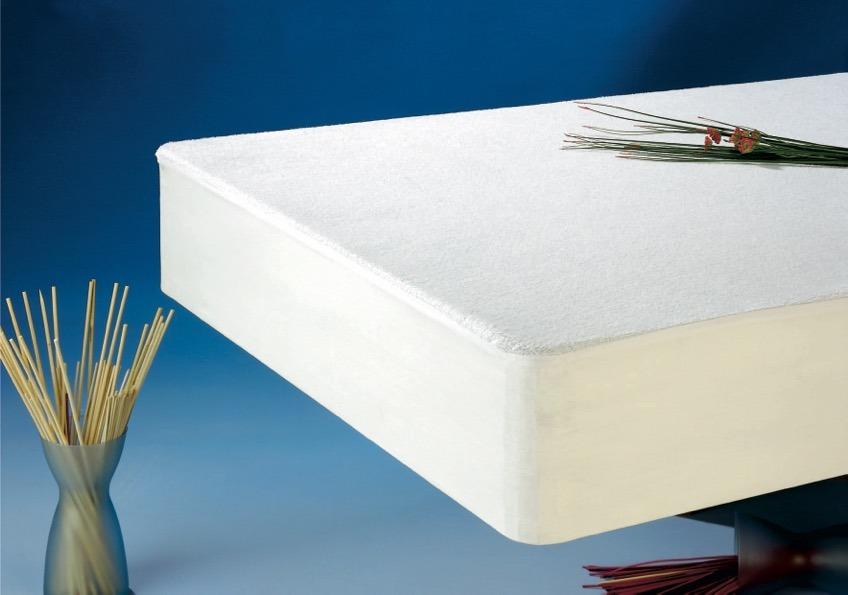 Protector colchón rizo algodón ajustable impermeable D.N. MODA HOGAR
