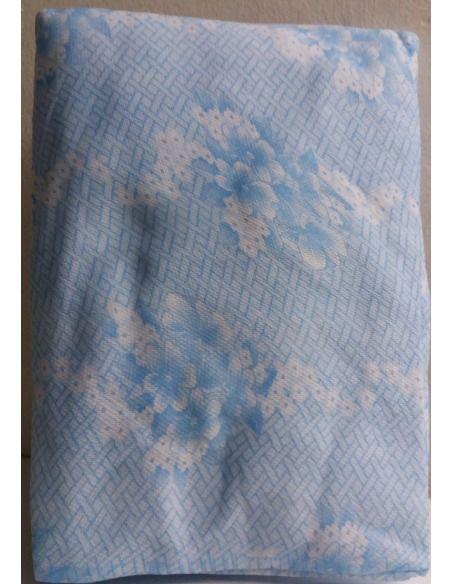 Funda colchón elástica estampado floral ALBA