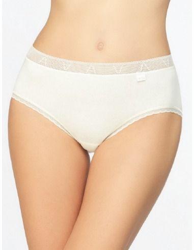 Braga mujer algodón puntilla elástica en cintura Avet