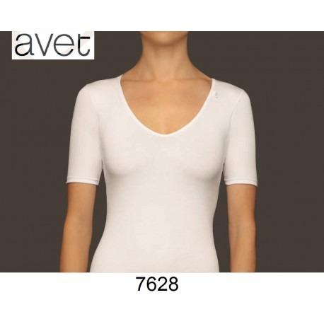 Camiseta sin costuras manga corta Avet