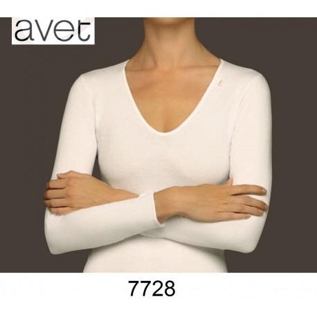 Camiseta sin costuras manga larga Avet