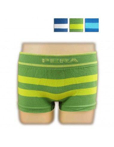 Boxer pack 3 rayas algodón PERA