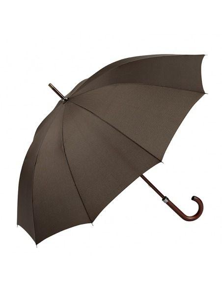 Paraguas hombre largo manual antiviento madera EZPELETA
