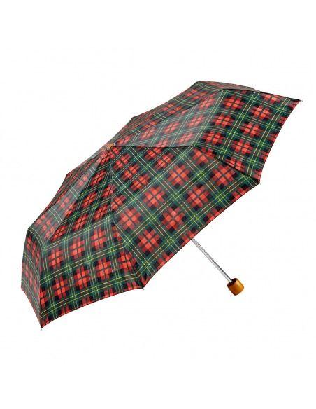 Paraguas mujer plegable manual cuadros GOTTA