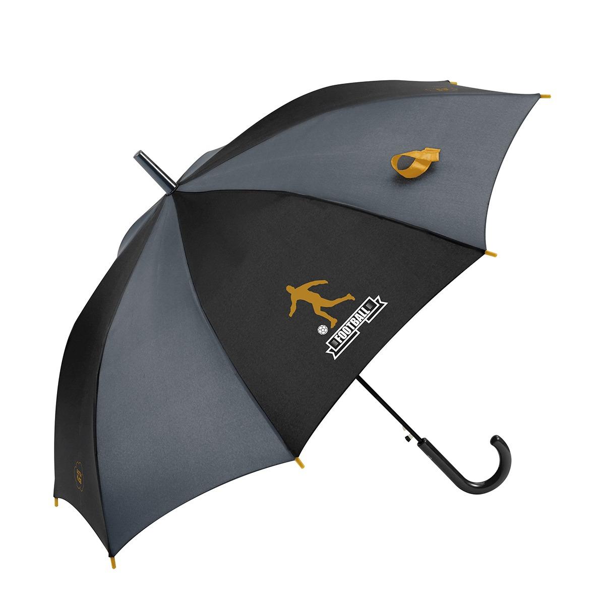 Paraguas largo niño niña automatico football antiviento GOTTA