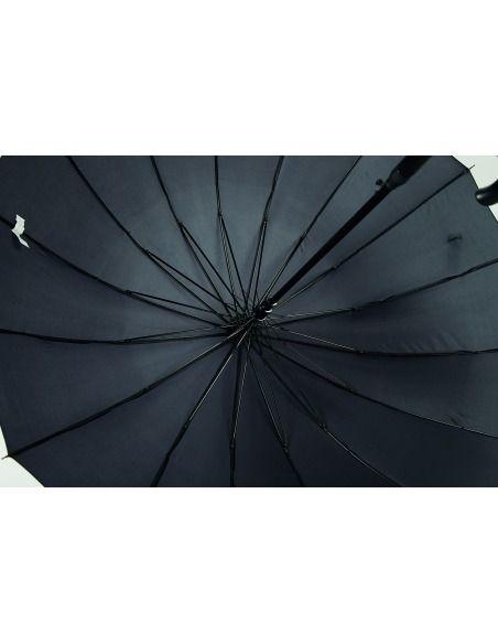 Paraguas hombre largo automático antiviento puño curvo GOTTA