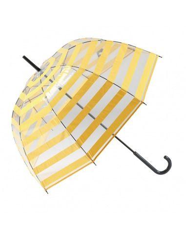 Paraguas largo mujer manual transparente GOTTA
