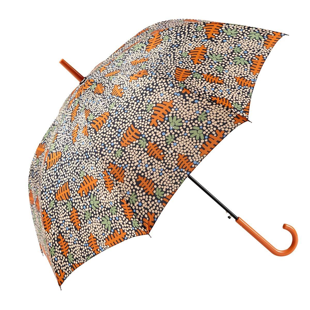 Paraguas largo mujer automático hojas GOTTA